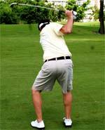 Le backswing est l'ennemi du swing de golf