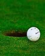 Au golf, pour jouer birdie, il faut rentrer la balle !
