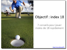 Objectif index 18 : 7 conseils pour progresser