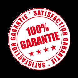 satisfaction 100% garantie