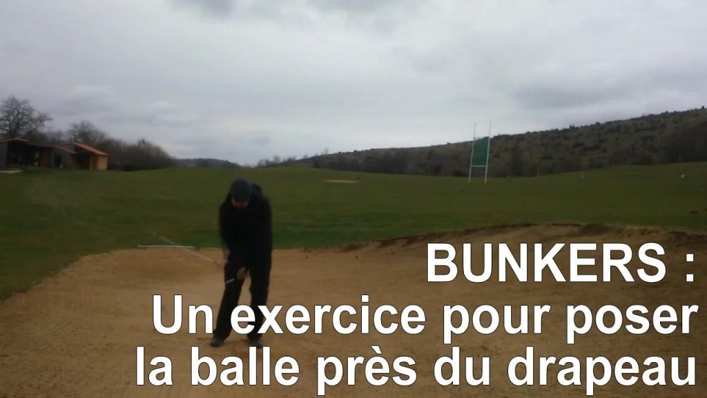 Bunkers : posez vos balles près du drapeau