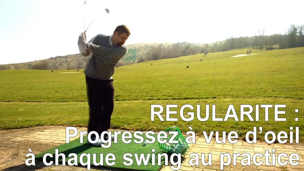 Progressez à vue d'œil à chacun de vos swings au practice