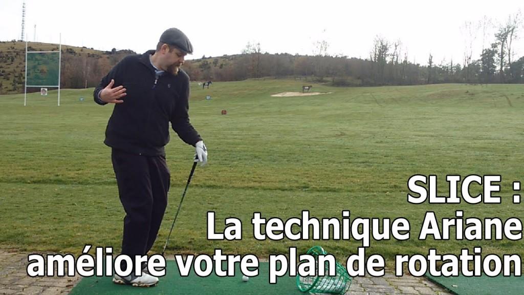 Améliorez votre plan de swing avec une bonne rotation